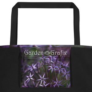 Purple Posey Beach Bag