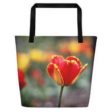 Load image into Gallery viewer, Totally Tulip Beach Bag