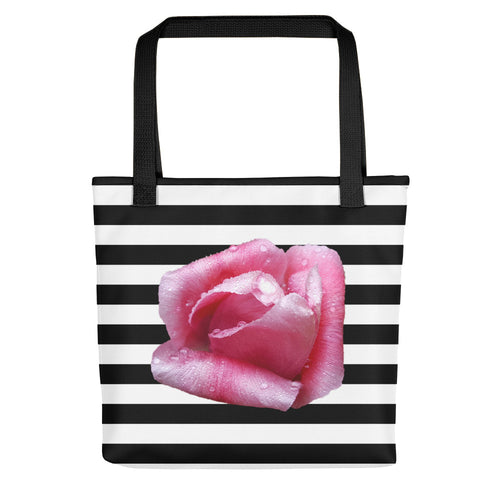Rose & Stripes Tote