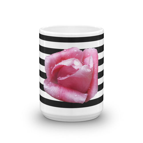 Rose & Stripes Mug