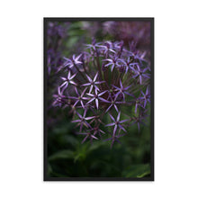 Load image into Gallery viewer, Purple Posey Framed Print