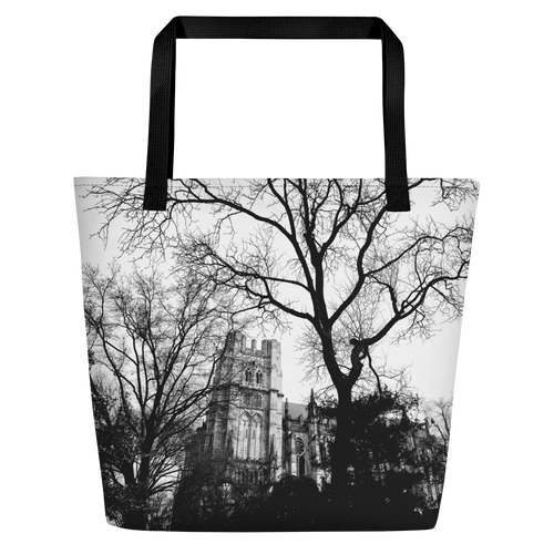 Cathedral Trees Beach Bag