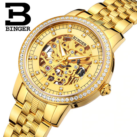 Binger Swiss Mechanical Miyota Luxury Men Watch B 5051
