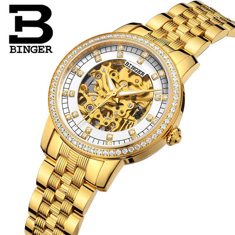 Image of Binger Swiss Mechanical Miyota Luxury Men Watch B 5051