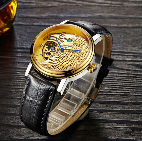 Binger Limited Edition Royal Eagle Mechanical Men Watch B 8888