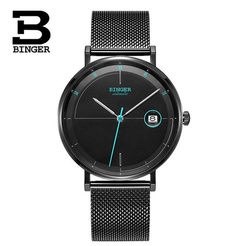 BINGER Swiss Speedo High end Mechanical watch B 5085