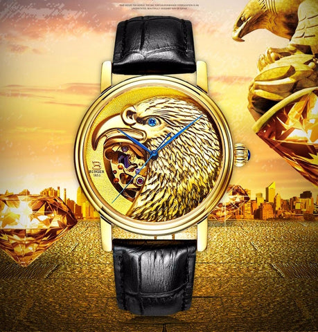 Image of Binger Limited Edition Royal Eagle Mechanical Men Watch B 8888