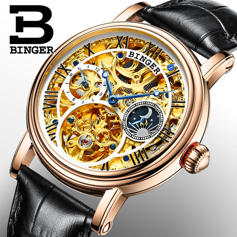 Binger Swiss Mechanical Tourbillon Watch B 1171