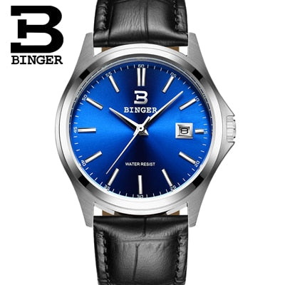 Image of Binger Swiss Men's Quartz Watch B 3052