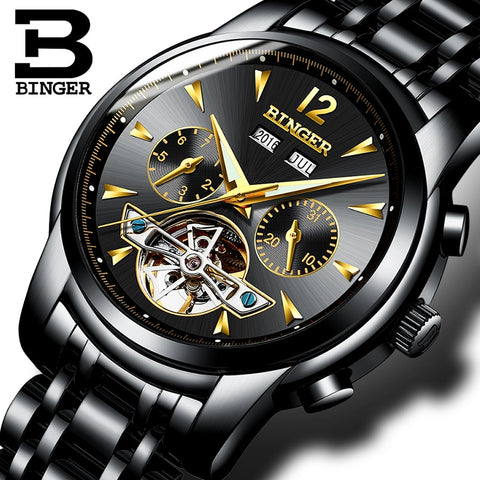 Image of Binger Swiss Tourbillon Men's Watch B 8608