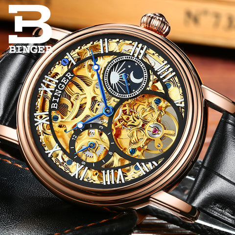 Image of Binger Swiss Mechanical Tourbillon Watch B 1171