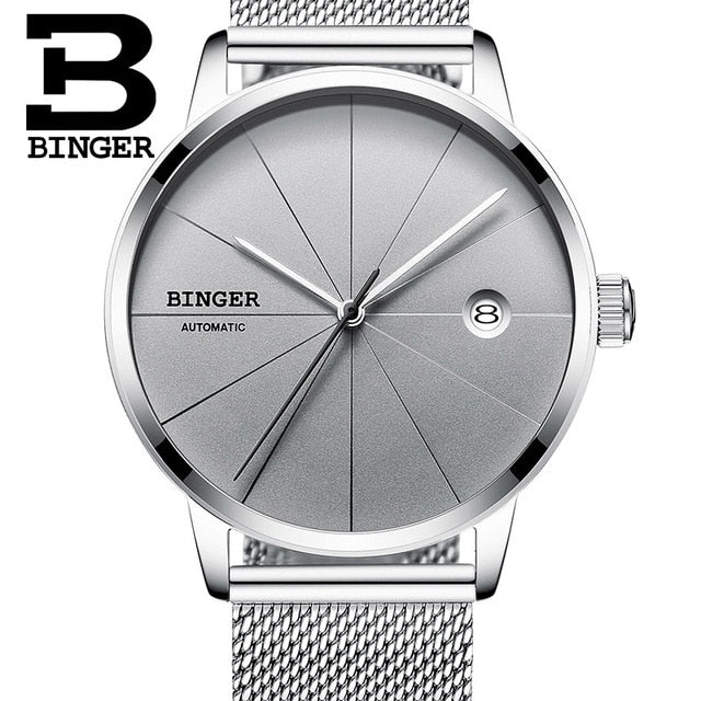 Binger Swiss Sport Luxury Mechanical Men's Watch B 5079