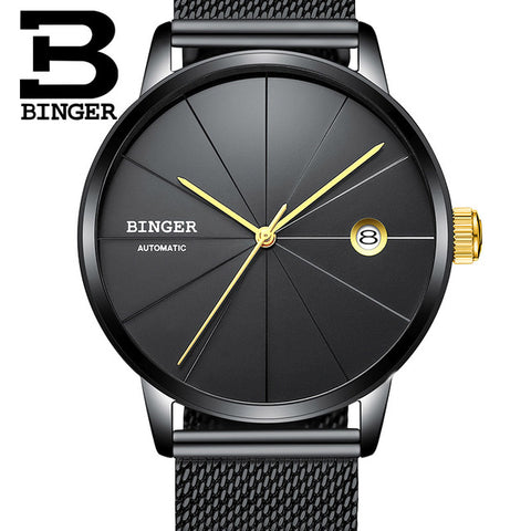 Image of Binger Swiss Sport Luxury Mechanical Men's Watch B 5079
