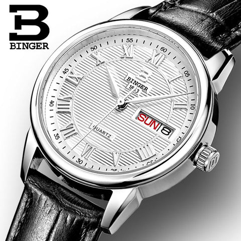 Image of Binger Swiss Quartz Watch Women B 3037