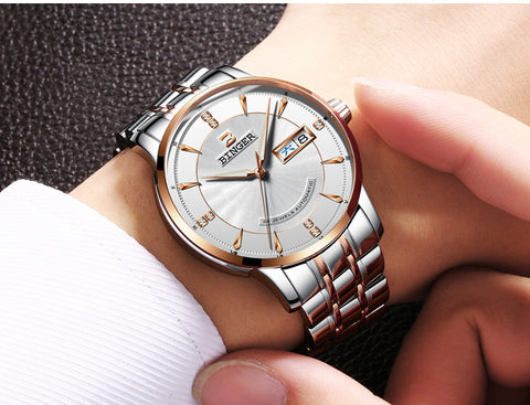 Image of Binger Swiss Mechanical Watch Men B 1176
