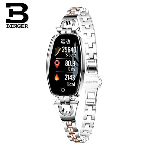 BINGER  Bluetooth High End Smart Watch For Women