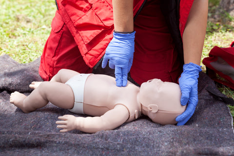 CPR: Compressions for Infants