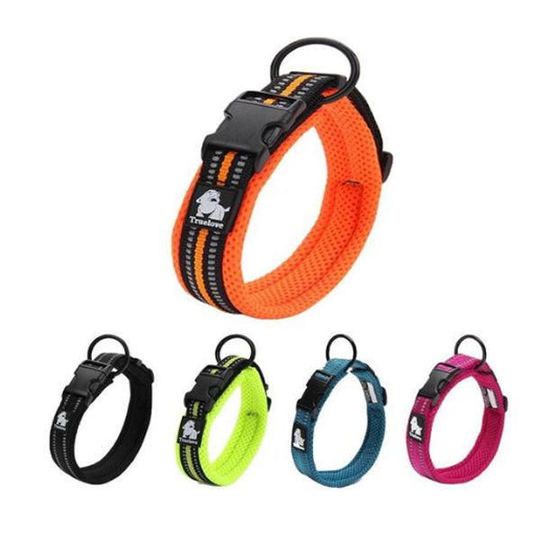 Ultimate Dog Collar - Padded, All Weather, Reflective