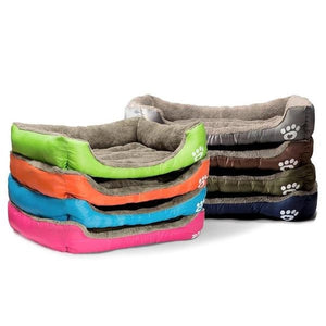 Deluxe Dog Bed - Superior Quality, Comfortable, Waterproof Backing - all colors