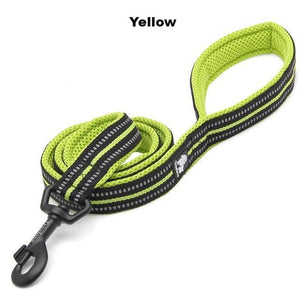 "Ultimate Dog Leash - 200 cm - 78.7"" - All Weather, Reflective - Yellow"