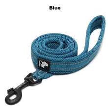 "Load image into Gallery viewer, Ultimate Dog Leash - 200 cm - 78.7"" - All Weather, Reflective - Blue"
