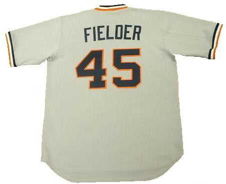 Cecil Fielder Detroit Tigers Throwback Jersey