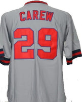 Rod Carew California Angels Throwback Road Jersey