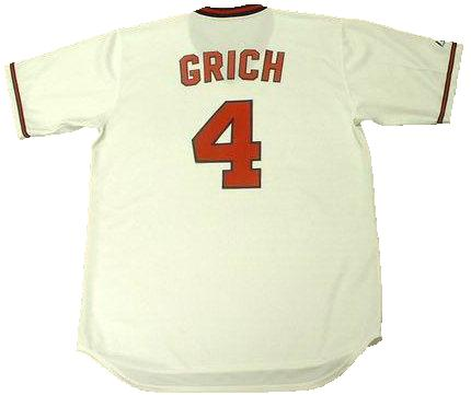 Bobby Grich 1982 Angels Throwback Jersey