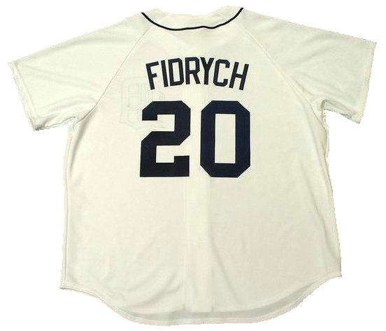 Mark Fidrych Detroit Tigers Jersey