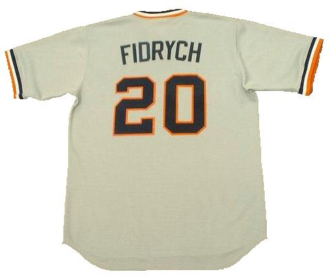 Mark Fidrych Detroit Tigers Throwback Jersey
