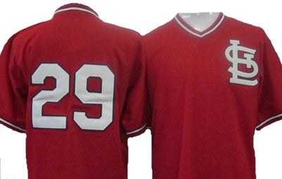 Vince Coleman St.Louis Cardinals Throwback Jersey