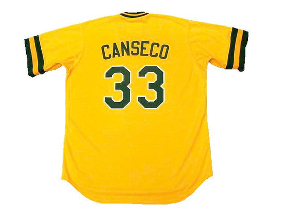 Jose Canseco 1987 Oakland A's Jersey