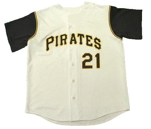 Roberto Clemente Pittsburgh Pirates Home Throwback Jersey