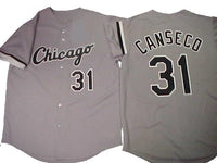 Jose Canseco Chicago White Sox Gray Road Jersey