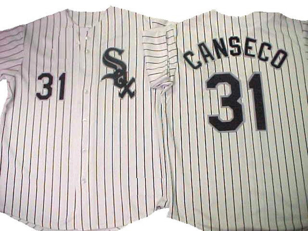 Jose Canseco Chicago White Sox Jersey