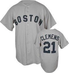 Roger Clemens Boston Red Sox Throwback Jersey