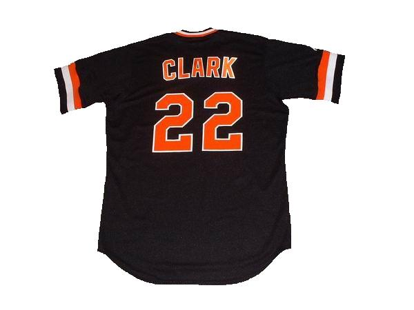 Jack Clark 1982 Giants Throwback Jersey