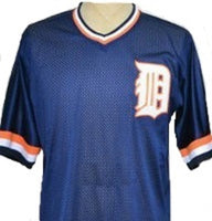 Kirk Gibson Detroit Tigers Blue Jersey