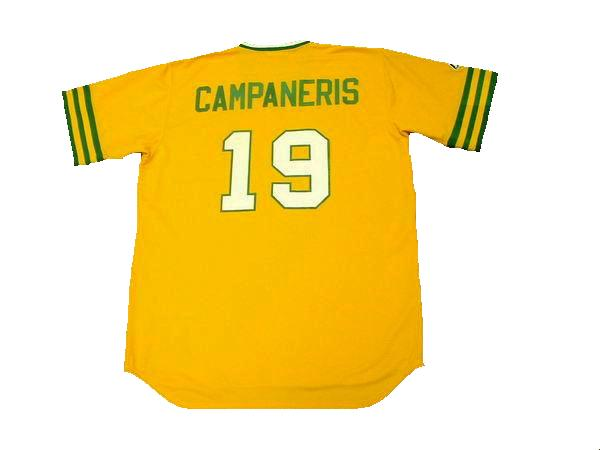 Bert Campaneris 1973 Athletics Throwback Jersey