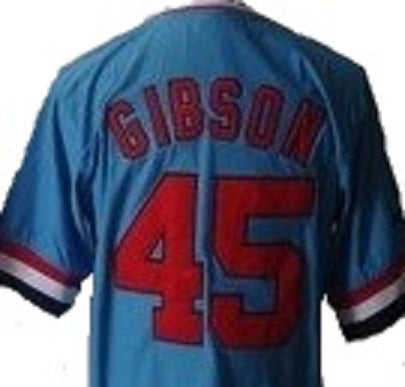 Bob Gibson Saint Louis Cardinals Throwback Jersey