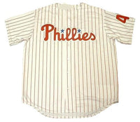 Lenny Dykstra Philadelphia Phillies Home Throwback Jersey