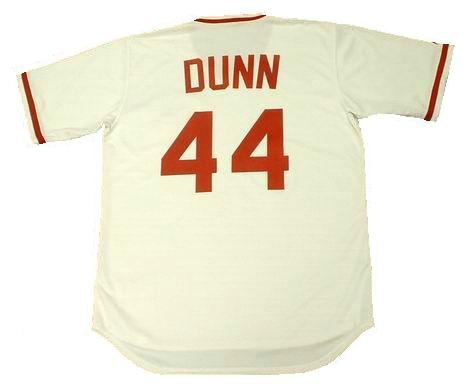 Adam Dunn Cinncinati Reds Throwback Jersey