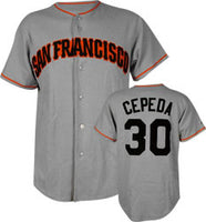 Orlando Cepeda San Francisco Giants Throwback Jersey