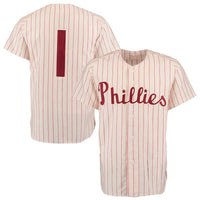 the best attitude aed6a c71cf Richie Ashburn 1950 Philadelphia Phillies Throwback Jersey