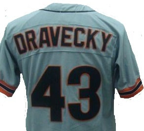 Dave Dravecky San Francisco Giants Throwback Jersey