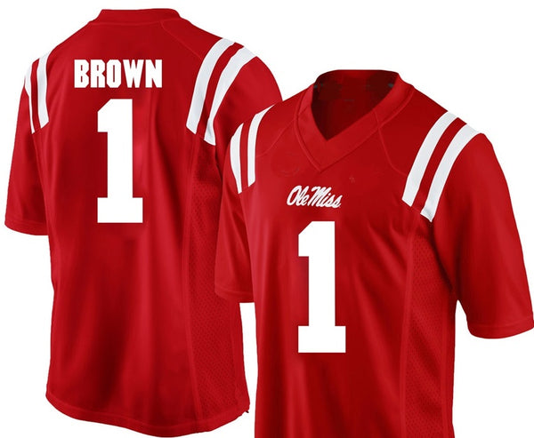 AJ Brown Ole Miss Rebels College Football Jersey
