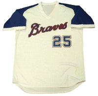 Andruw Jones Atlanta Braves Home Jersey