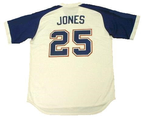 Andruw Jones Atlanta Braves Throwback Jersey