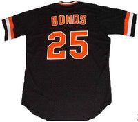 Barry Bonds Giants Baseball Jersey