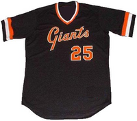 Barry Bonds Giants Custom Baseball Jersey